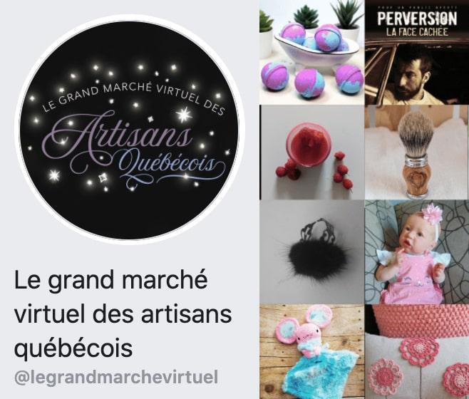 La grand marché virtuel des artisans québécois